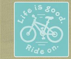 Women's Crusher Tee Ride On Bike Icon