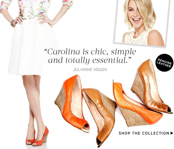 """Carolina is chic, simple and totally essential."" - Julianne Hough. Shop the Collection"