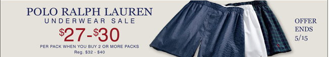 Shop All Polo Ralph Lauren Underwear
