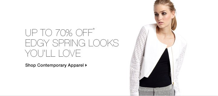 Up To 70% Off* Edgy Spring Looks You'll Love