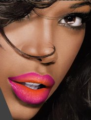 Jessica is wearing Color Sensational® Vivids in Electric Orange and Fuschia Flash.