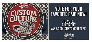 Vans Custom Culture Voting