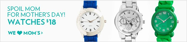 Watches $18!