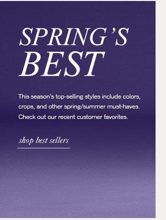 spring's best