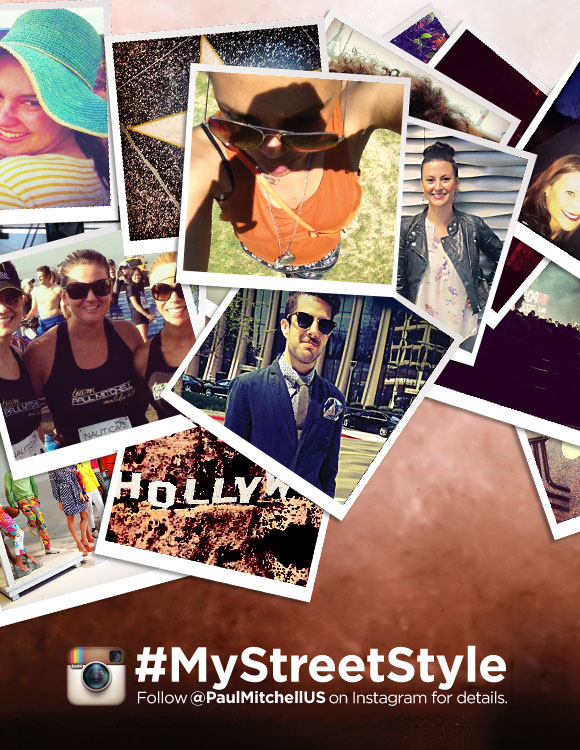 #MyStreetStyle Follow @PaulMitchellUS on Instagram for details.