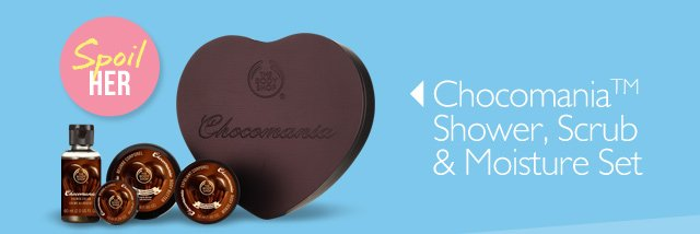 Spoil HER -- Chocomania™ Shower, Scrub & Moisture Set
