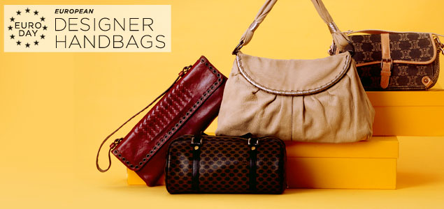 Designer Handbags by: Bottega Veneta, Longchamp, Celine & more