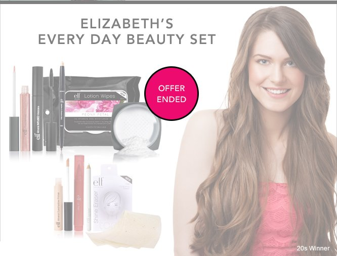 Elizabeth's Every Day Beauty Set - Offer Ended