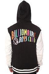 The Spectrum Varsity Jacket in Black