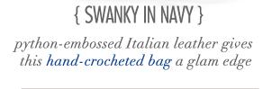 Swanky In Navy