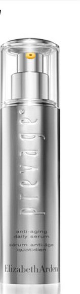 PREVAGE® Anti-Aging Daily Serum. Discover our award-winning serum with Idebenone, the most powerful antioxidant*, to protect skin, support its repair natural process, and ease the look of lines and age spots, $159.00. SHOP PREVAGE®.