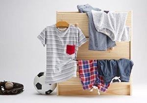 Peas & Queues:  Spring Essentials for Little Boys