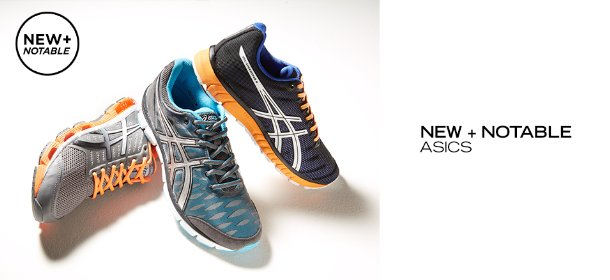 NEW + NOTABLE: ASICS, Event Ends May 13, 9:00 AM PT >