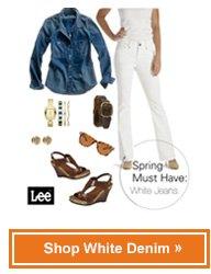 Shop white denim »