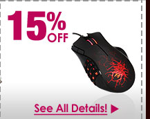 72 HOURS ONLY! 15% OFF SELECT RAZER MICE!*