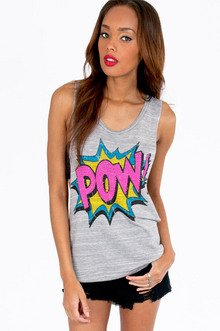 Pow Wow Tank Top $25
