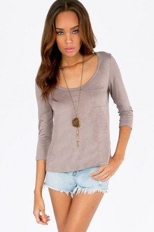 Pocket T-Shirt $21