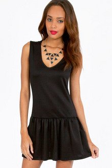 Dyna Drop Waist Dress $28