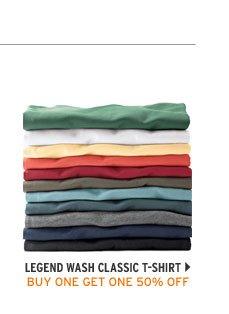 Short-Sleeve Legend Wash Classic T-Shirt