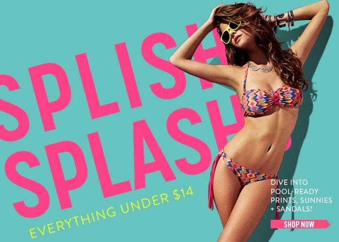 Splish Splash! Dive Into Pool-Ready Prints - Shop Now