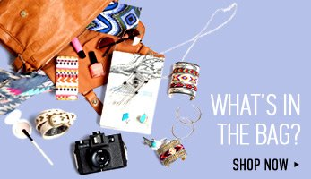 What's In The Bag? - Shop Now