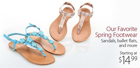 Our Favorite Spring Footwear
