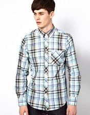 Ben Sherman Ls Shirt Clerkenwell Collar