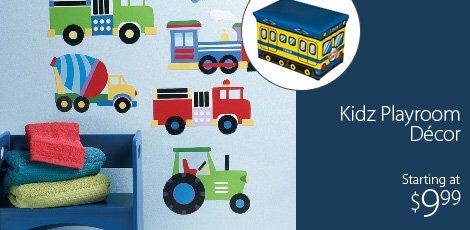 Kidz Playroom Decor