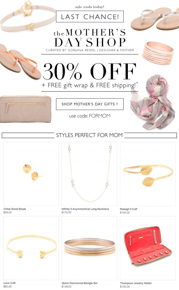 The Mother's Day Shop