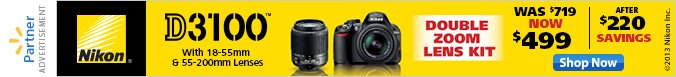 Shop Nikon Now for Mother's Day