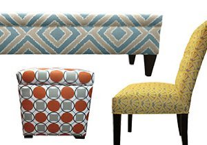 Fresh Take: Chairs, Benches & Ottomans