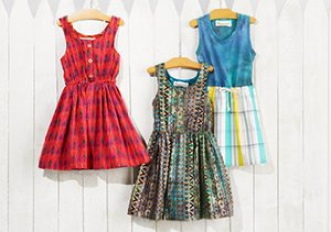 Peas & Queues: Spring Styles for Girls