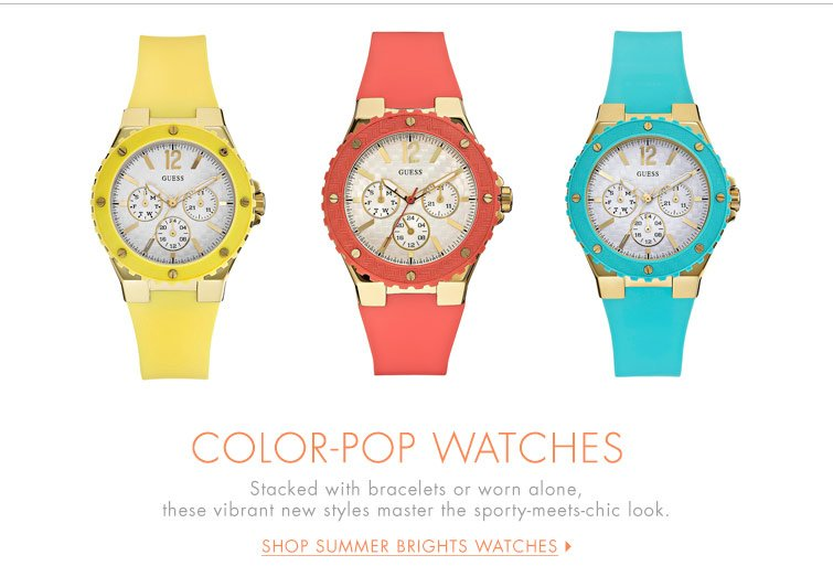 Shop All Summer Brights Watches