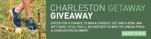 Charleston Getaway Giveaway