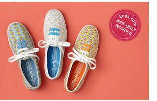 Only at Keds.com