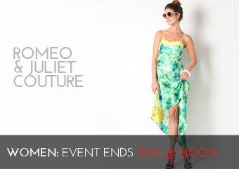 ROMEO JULIET COUTURE - WOMEN