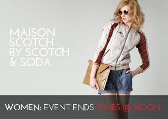 MAISON SCOTCH BY SCOTCH SODA - WOMEN