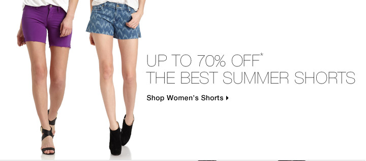 Up To 70% Off* The Best Summer Shorts