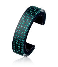 Resin Emerald Bangle