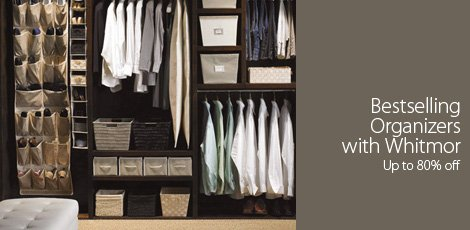 Best-Selling Organizers with Whitmor