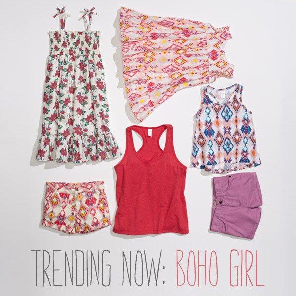 TRENDING NOW: BOHO GIRL