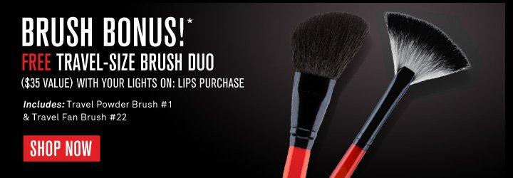 Free Travel-Size Brush Duo
