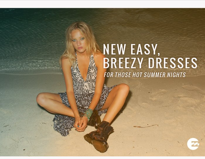 New Easy, Breezy Dresses For Those Hot Summer Nights