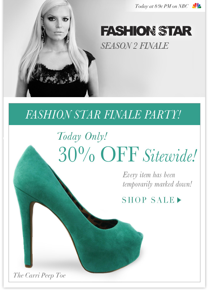 Watch the Season 2 Finale tonight at 8/9c PM! 30% OFF Sitewide Today only!