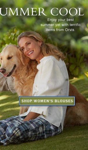 shop women's blouses