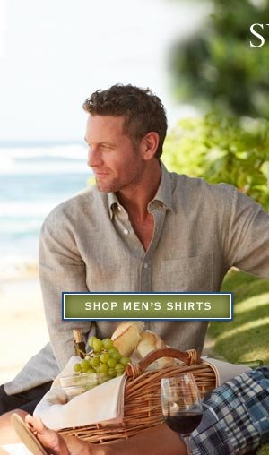 Summer cool - Enjoy your best summer yet with terrific items from Orvis.   shop men's shirts