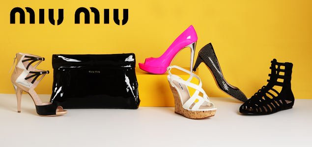 Miu Miu Shoes and Handbags