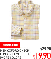 MEN OXFORD SHIRT