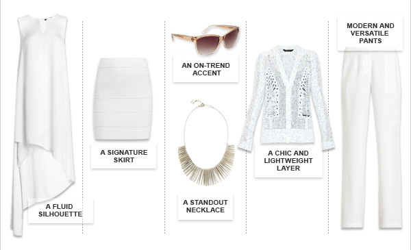 MUST-HAVE SUMMER WHITES