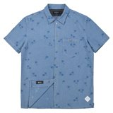 Palm Tree Jacquard Chambray Shirt
